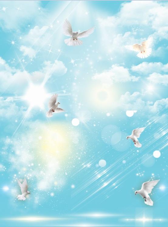 کاملترین مجموعه نور و ابرهای حرفه ای برای طراحی