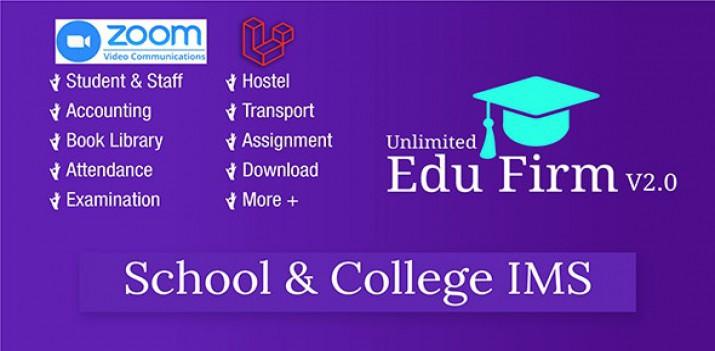 اسکریپت php لاراول مدیریت اطلاعات دانشگاه و مدرسه