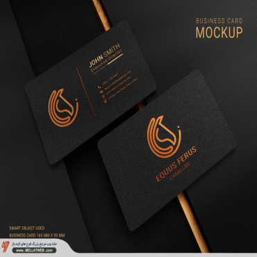 موکاپ لایه باز کارت ویزیت با فرمت psd طرح جدید