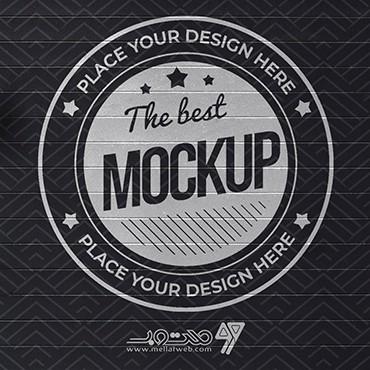 موکاپ نمایش لوگو جدید